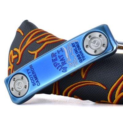 スコッティキャメロン ツアーパター Masterful Super Rat I Blue Pearl Finish&トップライン& circle t 20G weights