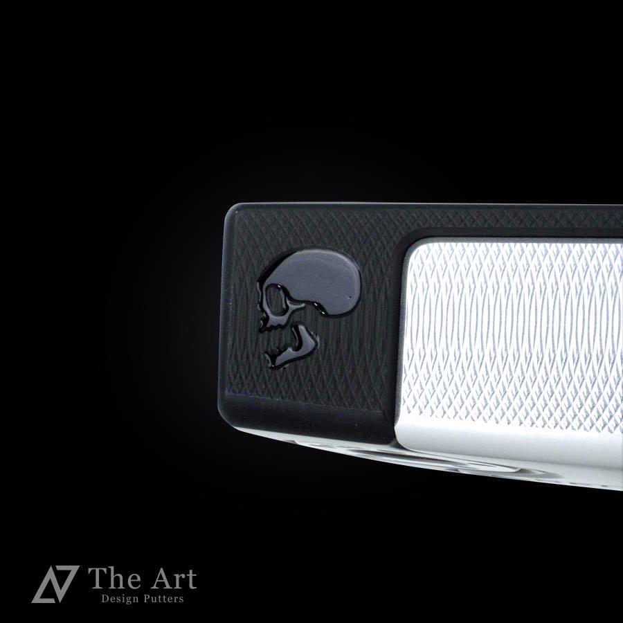 スコッティキャメロン カスタムパター ファストバック2 [Sideface Skull] ブラックメッキ シルバーアルマイト