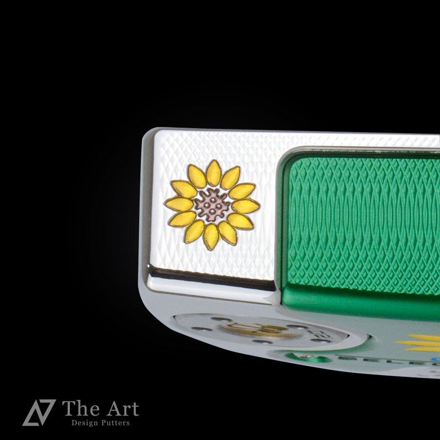 スコッティキャメロン カスタムパター ファストバック2 [Sunflower] グリーンプレート シャインメッキ
