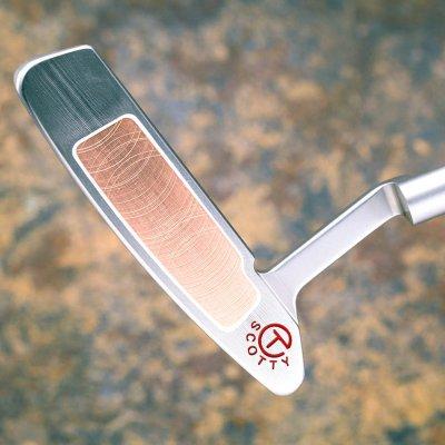 スコッティキャメロン ツアーパター SSS Newport 2 Buttonback Teryllium inlay with 20g circle T weights ブルックス・ケプカ