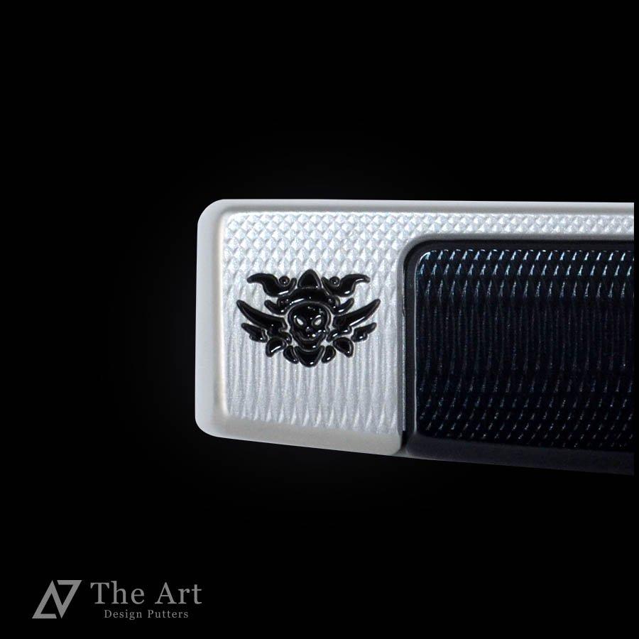 スコッティキャメロン カスタムパター ファストバック [Monster Skull] センターシャフト ブラックアルマイト