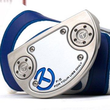 スコッティキャメロン ツアーパター SSS Special Select FLOWBACK 5 Tourtype with 20g サークルT weights Translucent Blue