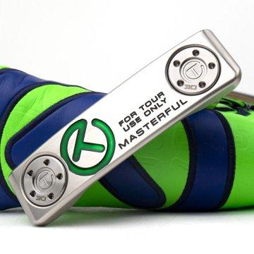 スコッティキャメロン ツアーパターSSS Masuterful Tourtype with 30g circle T weights Translucent green