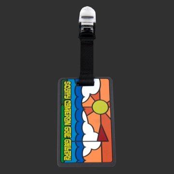 スコッティキャメロン パターカバーホルダー (ヘッドカバーリーシュ)  カリフォルニアキャメロンギャラリー限定 ターフ&サーフ