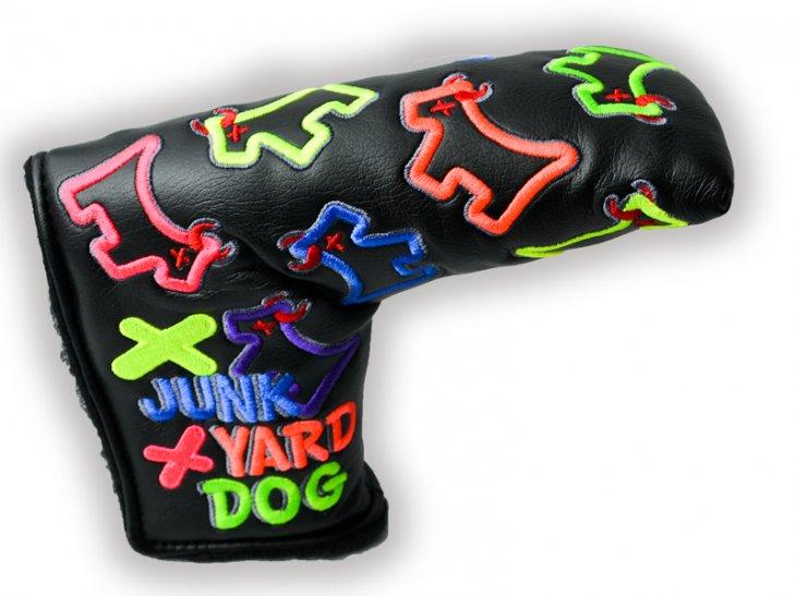 スコッティキャメロン DANCING MIXED NEON JUNK YARD DOG ヘッドカバー