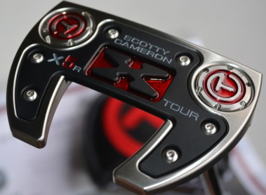 Image result for Made for the tour mid milled Futura X5R in SSS with 20g circle T sole weights.