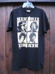 JIMI HENDRIX/ジミーヘンドリックス Tシャツ black  A