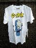 BAD ACID/バッドアシッド<BR>BONE HEAD Tシャツ white