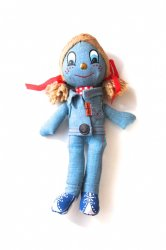 knickerbocker <br/>LEVI'S Denim Rug Doll