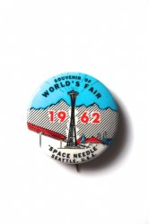 1962 SEATTLE WORLD'S FAIR Pin