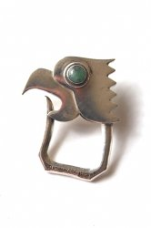 Mexican Eagle Head Keyring