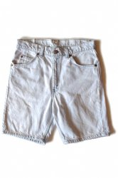 Levi's 505 Ice Blue Denim Shorts