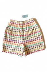 White Stag Flower Printed Shorts <br/>Deadstock