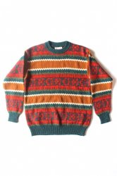 UNITED COLORS OF BENETTON SHETLAND WOOL Sweater