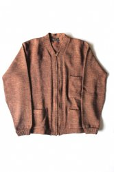CEDAR RAPIDS <br/>Wool Zip Up Work Cardigan