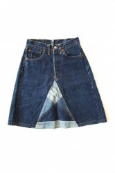 LEVI'S 501 Denim Custom Skirt