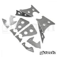 GKTech V2 リアメンバー溶接補強プレートキット S14/S15/R33/R34