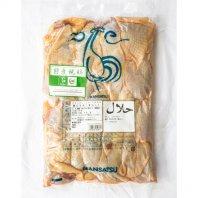 ハラル親鶏モモ肉(骨なし)2Kg