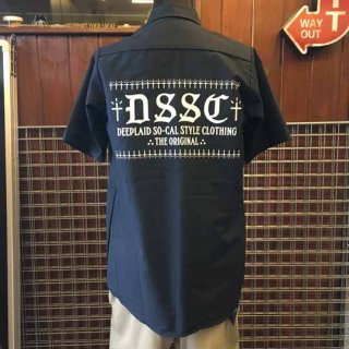 DEEPLAID CLOTHING DSSC S/S WORK SHIRTS ディープレイド/6,800円