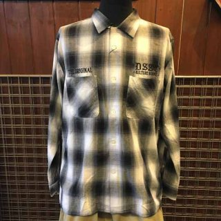 DEEPLAID CLOTHING DSSC L/S OMBRE CHECK SHIRTS /8,800円