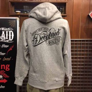 DEEPLAID CLOTHING ORIGINAL SCRIPT ZIP HOOD ディープレイド/8,000円
