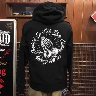 DEEPLAID CLOTHING PRAYING HAND ZIP HOOD ディープレイド/8,800円