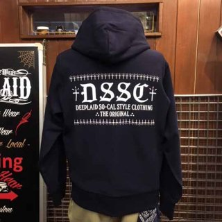 DEEPLAID CLOTHING DSSC ZIP HOOD ディープレイド/8,800円
