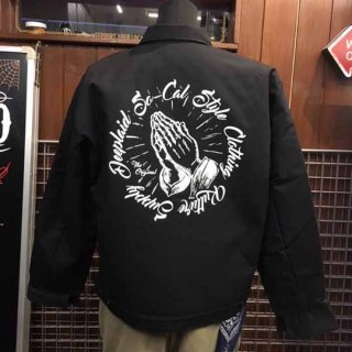DEEPLAID CLOTHING PRAYING HAND WORK JACKET ディープレイド/12,000円