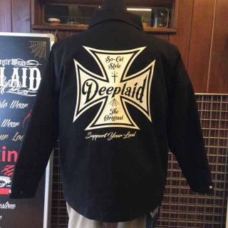 DEEPLAID CLOTHING IRON CROSS TWILL JACKET ディープレイド/18,000円