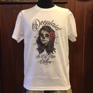 DEEPLAID CLOTHING DAY OF THE DEAD KOLOR TEE ディープレイド/3,800円