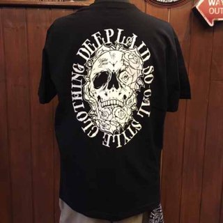 DEEPLAID CLOTHING SKULL ROSE TEE ディープレイド/3,800円
