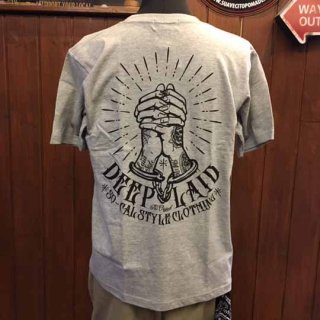 DEEPLAID CLOTHING CRIMINAL PRAYER TEE ディープレイド/3,800円