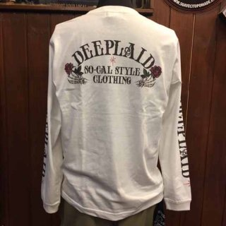 DEEPLAID CLOTHING DEDICAR LONG SLEEVE TEE ディープレイド/5,800円