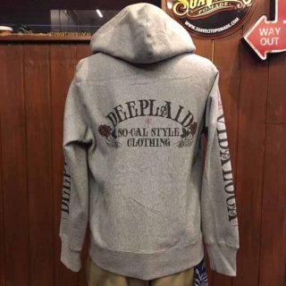 DEEPLAID CLOTHING DEDICAR ZIP HOOD ディープレイド/8,800円