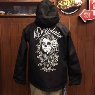 DEEPLAID CLOTHING DAY OF THE DEAD PAISLEY SHELL PARKA ディープレイド/9,800円