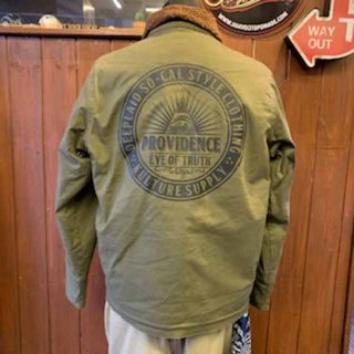 DEEPLAID CLOTHING PROVIDENCE DECK JACKET ディープレイド/20,000円
