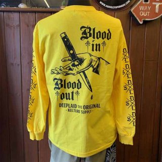 DEEPLAID CLOTHING BLOOD IN BOOD OUT LONG SLEEVE TEE ディープレイド/5,800円
