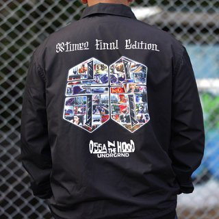 OSSAN THE HOOD x 38 TIMEZ NYLON COACH JACKET/15,800円