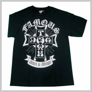 DOG TOWN×FAMOUSコラボTシャツ!DOG TOWN×FAMOUS DOG TOWN CROSS TEE/3,980円