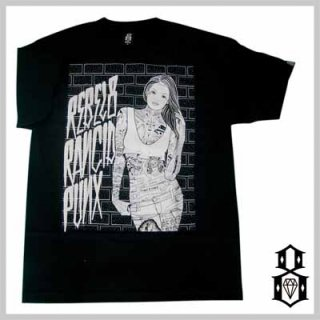REBEL8×RANCIDのコラボTシャツ!REBEL8 DOPE SICK GIRL TEE/4,880円