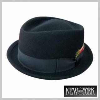 作りが上質な定番ダイアモンドハット!NEW YORK HAT FELT DIAMOND CROWN/7,980円