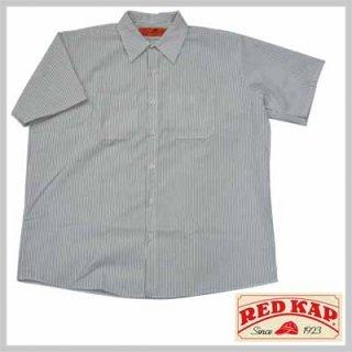 リーズナブルで合わせやすい半袖ストライプワークシャツ!RED KAP SP20CW/3,480円