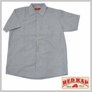 リーズナブルで合わせやすい半袖ストライプワークシャツ!RED KAP SL20WB/3,480円
