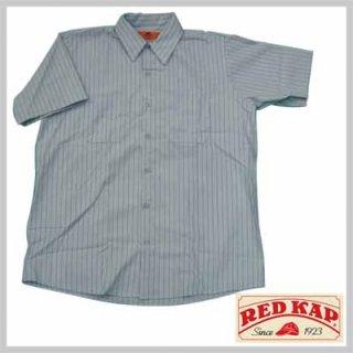 リーズナブルで合わせやすい半袖ストライプワークシャツ!RED KAP SP20BB/3,480円