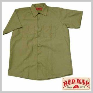 リーズナブルで合わせやすい半袖ワークシャツ!RED KAP SP24KK/2,980円