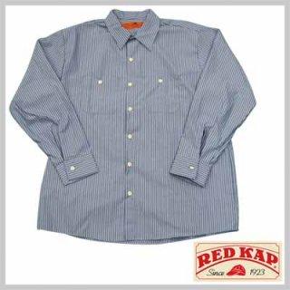 リーズナブルで合わせやすいストライプワークシャツ!RED KAP SP10BW/4,480円