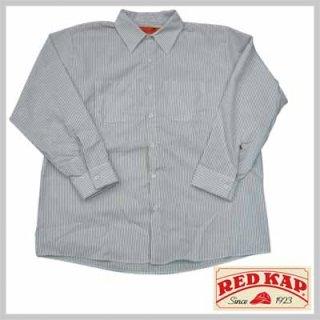 リーズナブルで合わせやすいストライプワークシャツ!RED KAP SP10CW/4,480円