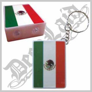 MEXICO/メキシコ LEDライト付きキーチェーン /525円