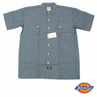 定番ワークブランドの定番シャンブレーシャツ!DICKIES S/S CHAMBRAY SHIRTS/3,980円