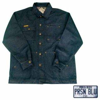 本場の囚人達が作るリアルな本格派デニムブランド!PRISON BLUES YARD COAT/10,800円